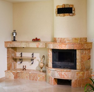 Fireplace and mantelpiece