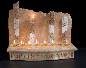 Gush Katif Memorial Menorah